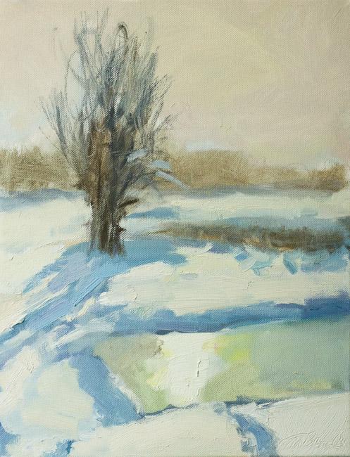 "Ziema ""Gāršās"" iii | Winter in countryside iii"