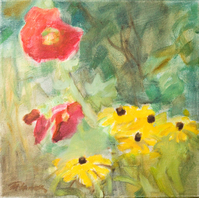 Mammas puķes   Mother's flowers