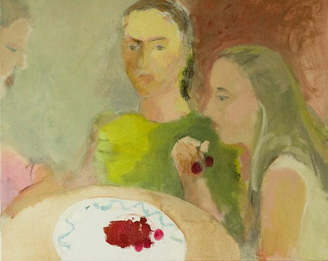 Meitenes un ķirši | Girls and cherries